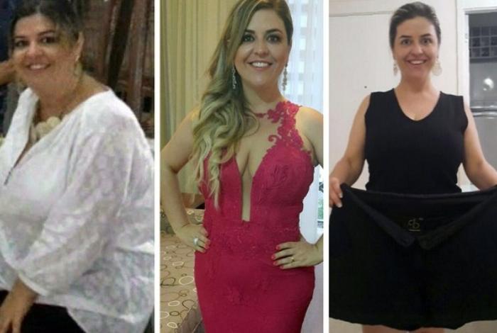 Edivania criou um próprio método de emagrecimento para dar adeus à obesidade e agora ajuda outras pessoas
