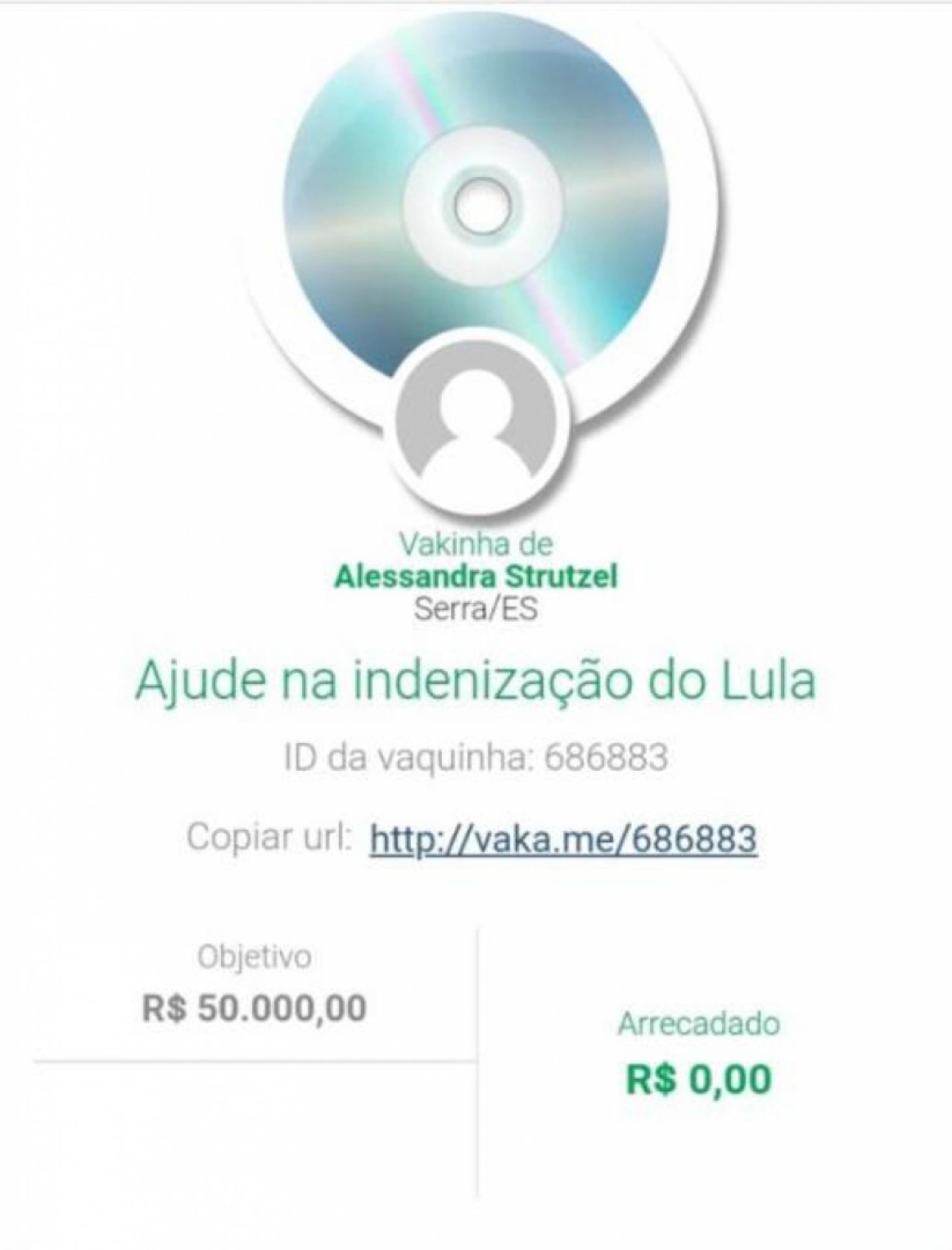 Blogueira que festejou morte de neto de Lula implora por dinheiro
