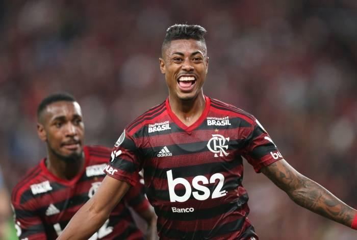 Gerson e Bruno Henrique: dois destaques do grande time do Mengão