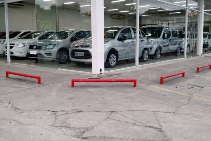 A fachada da nova loja Robmar Automóveis de Campo Grande