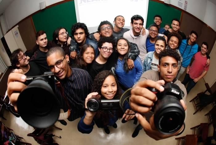 Na PUC, alunos se qualificam para trabalhar como assistentes de câmera, cinegrafista ou com edição