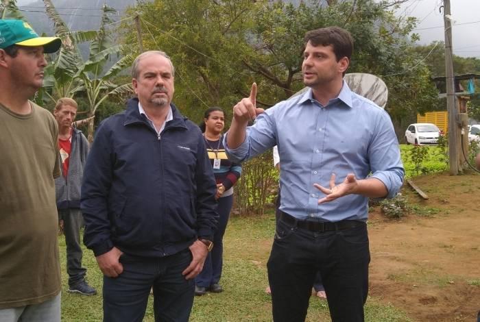 Bernardo Rossi esteve no lançamento do programa