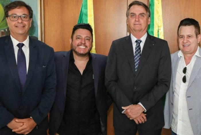Bruno e Marrone são nomeados embaixadores do turismo brasileiro durante governo Bolsonaro