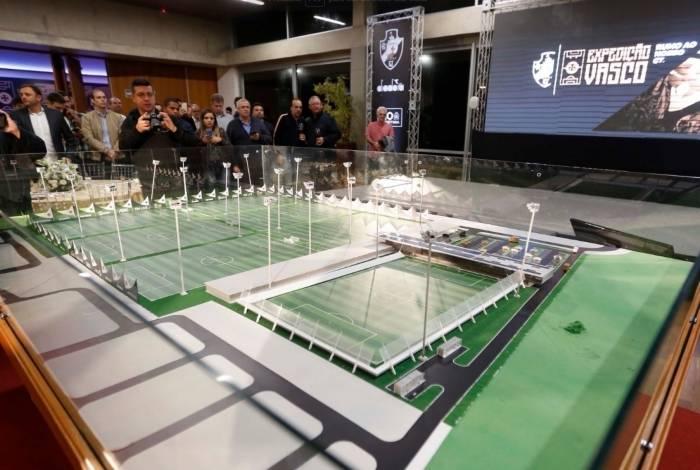 O Vasco apresentou detalhes do projeto do futuro CT. Os torcedores têm contribuído com doações