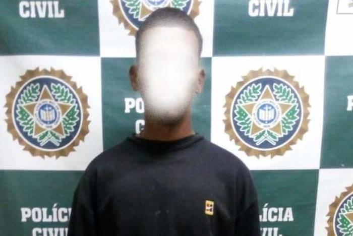 Wallace dos Santos Lima Gabi foi preso em flagrante