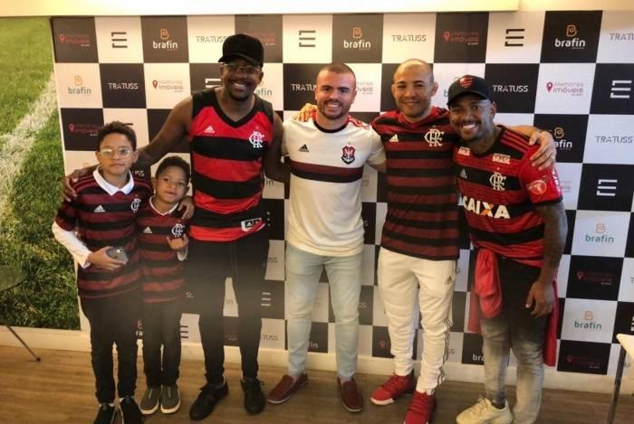 Mumuzinho e os filhos, Ederson Soares, José Aldo e Nego do Borel
