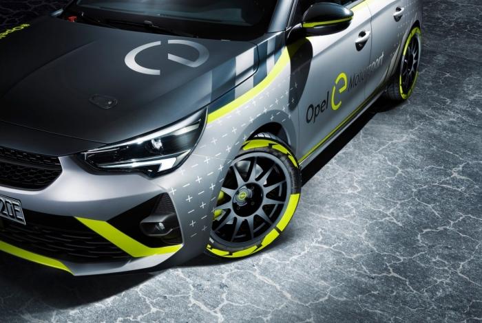 Opel revela Corsa elétrico preparado para competições de rally