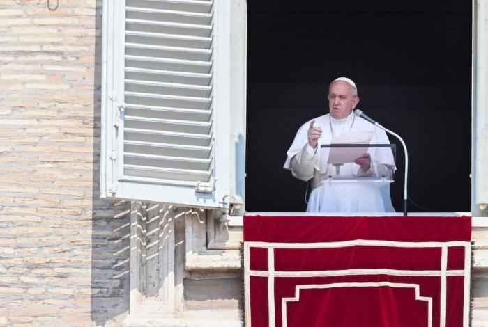 Declaração foi dada no tradicional encontro com fiéis na Praça São Pedro aos domingos