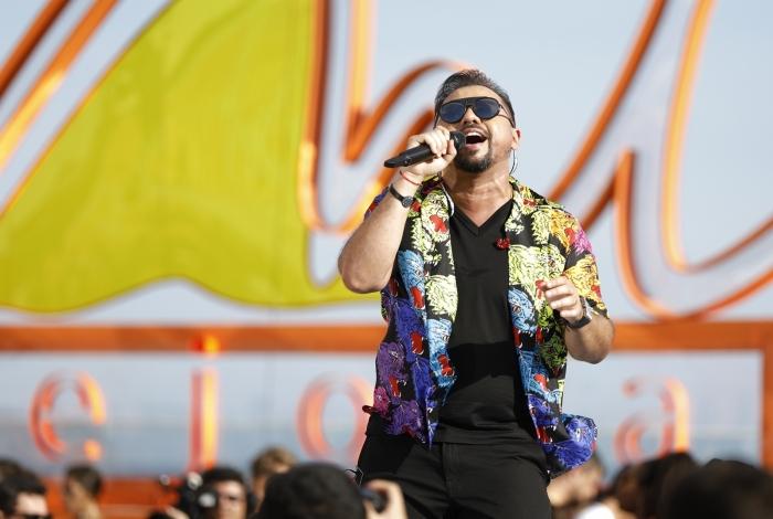 Xand Avião lançou música nova em DVD gravado ao vivo no Rio