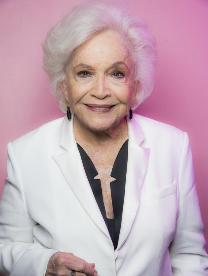 Nathalia completou 90 anos no dia 5 de agosto