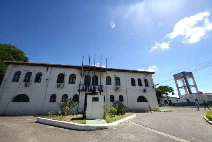 A sede da Fundação Municipal da Infância e da Juventude, de Campos, que lança programa para preparar os abrigados para o início da vida adulta e da vida em sociedade
