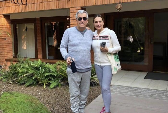 Mauro Naves e Patrícia Naves