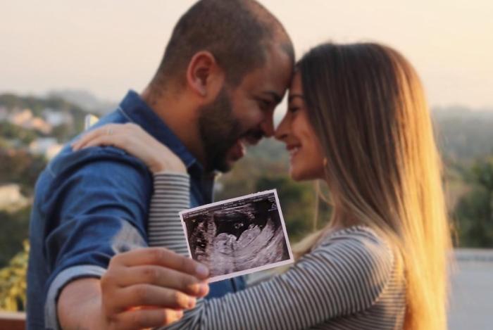 Projota anuncia que será pai