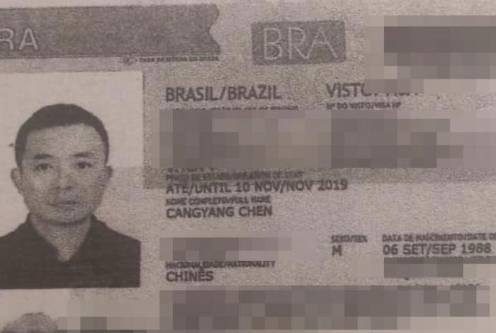 Chen: morto em Ipanema