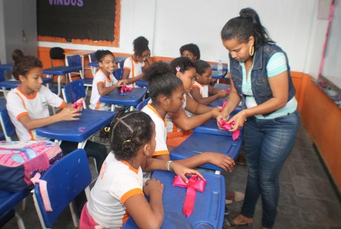As aulas de artesanato já têm 27 alunos matriculados