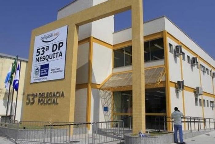 Ex-empresário foi preso por policiais da 53ª DP (Mesquita)