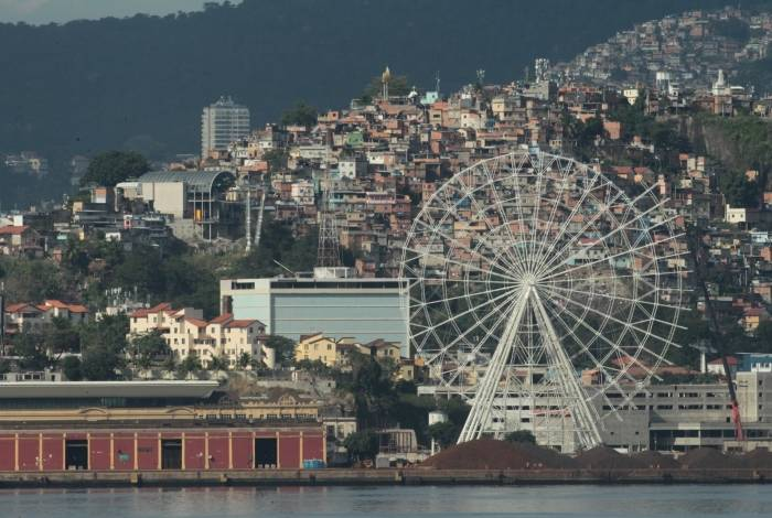 Com 88 metros de altura, a Rio Star fica pronta em novembro para receber 1 milhão de turistas por ano