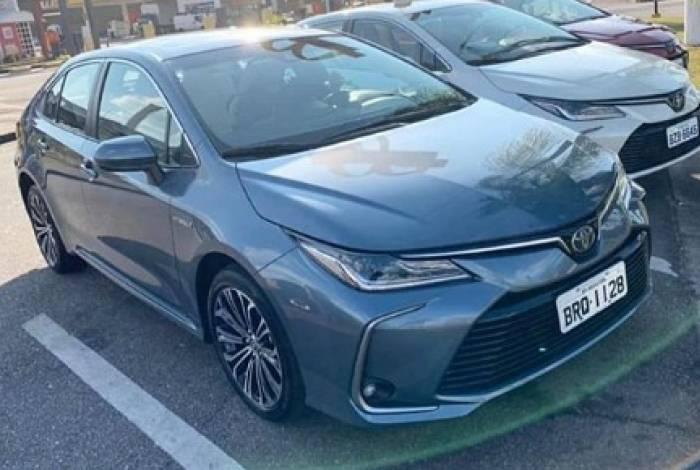 Visual foi divulgado em grupos de fãs do modelo Toyota
