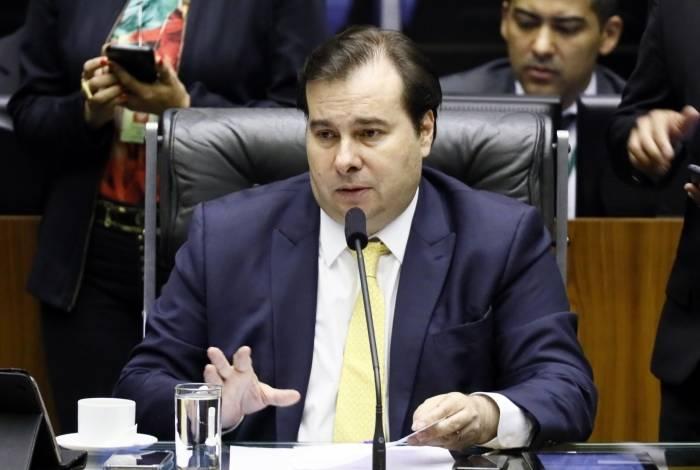 Rodrigo Maia ainda não discutiu o tema, mas entrará em força-tarefa