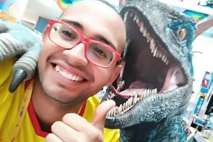 Thiago Marins trabalhava em uma loja de brinquedo no shopping