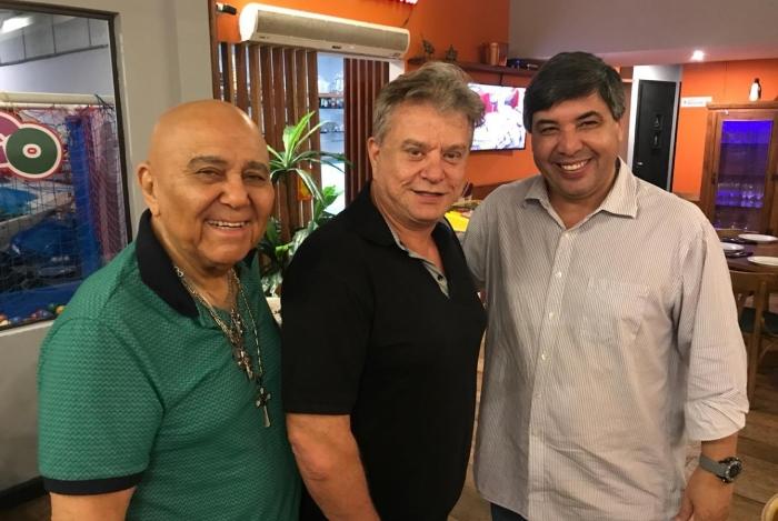 Roberto Guilherme, Marcos Aurelio e Edilson Silva