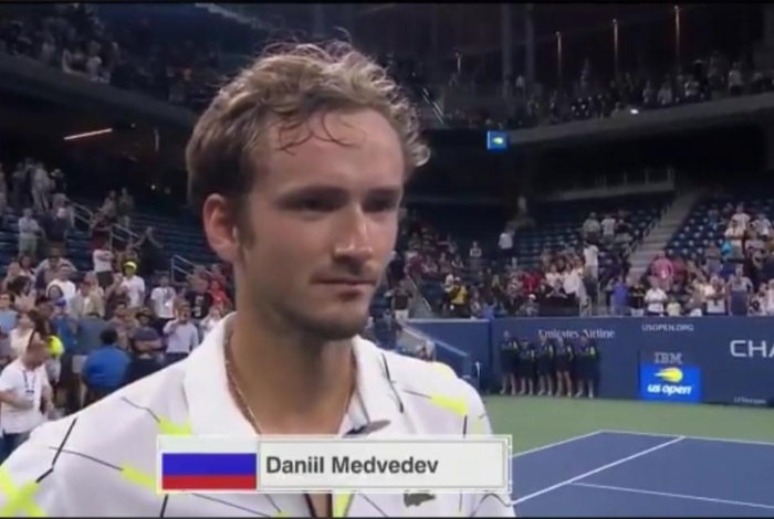 Danill Medvedev é o 5º do ranking