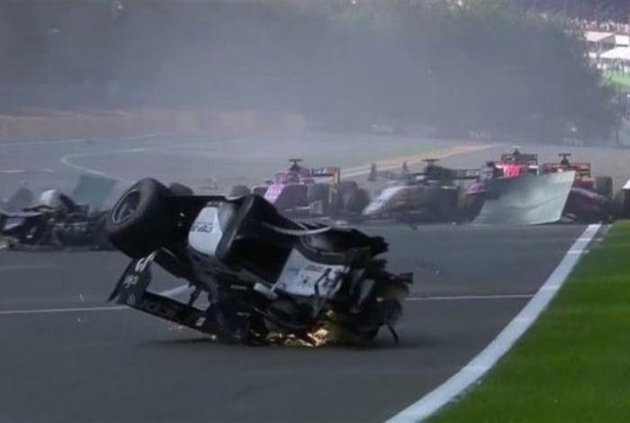 Grave acidente na Fórmula 2 deixou ao menos quatro feridos