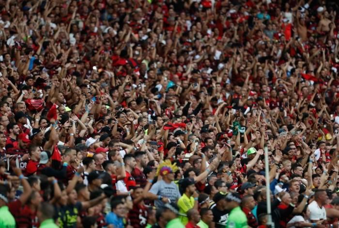 No próximo confronto entre as equipes em que o Flamengo for mandante, o Rubro-Negro poderá ter torcida única, sem presença de palmeirenses no estádio