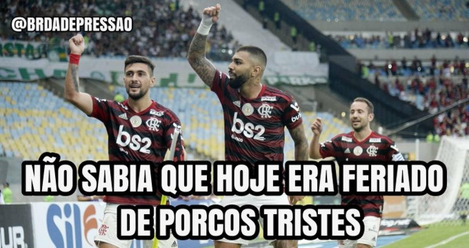 Torcida Do Flamengo Vai A Loucura Com Chocolate Em Cima Do Palmeiras Confira Memes Istoe Independente