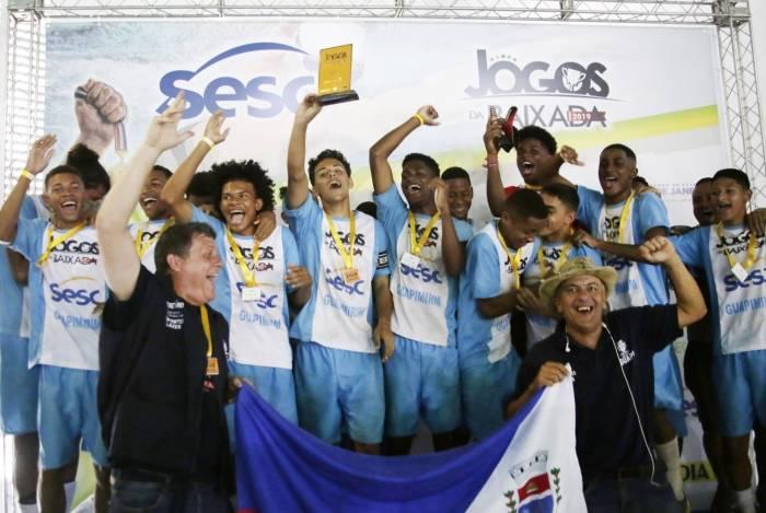Atletas e dirigentes de Guapimirim participam na próxima quinta-feira da live no Facebook. Município foi o campeão do futebol sub-17