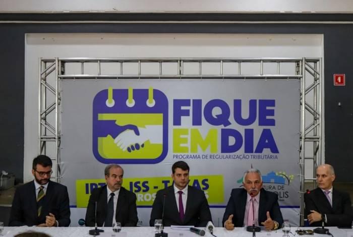 Prefeito Bernardo Rossi participou no lançamento do programa