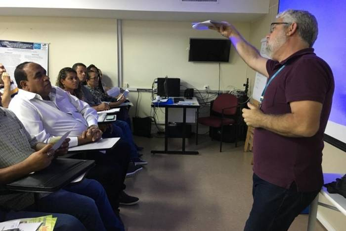 Curso para comunidades terapêuticas qualificou 60 profissionais nesta terça