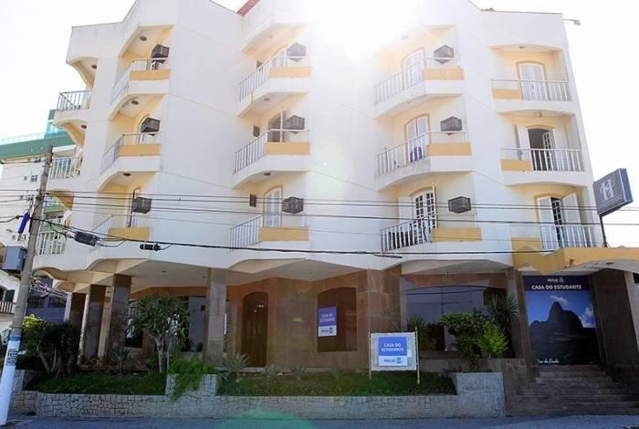 A Casa do Estudante é residência de 73 universitários de fora da cidade que frequentam os cursos da UFF, Uerj, URFJ e FeMASS em Macaé
