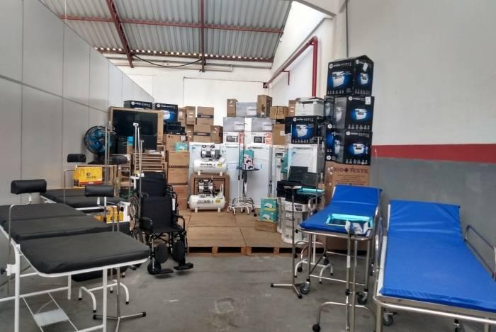 Material será distribuído entre as unidades de saúde