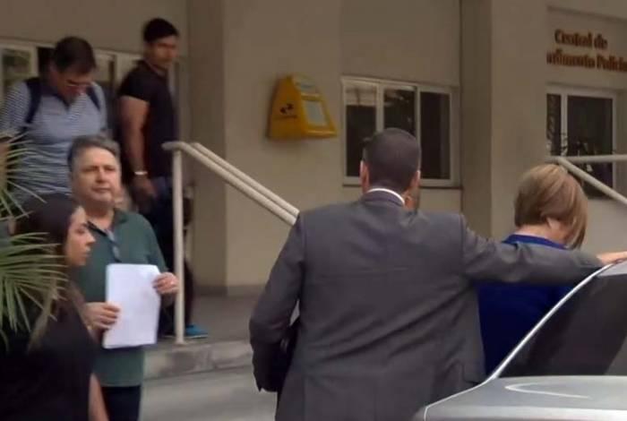 Ex-governadores foram levados para a Cidade da Polícia