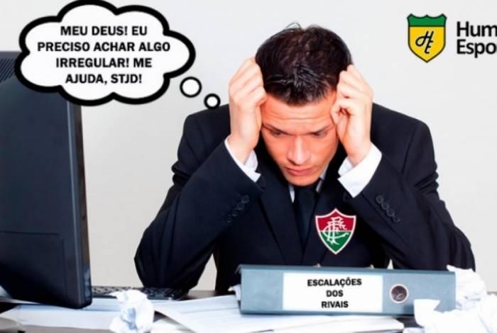 Fluminense perdeu mais uma no Brasileiro