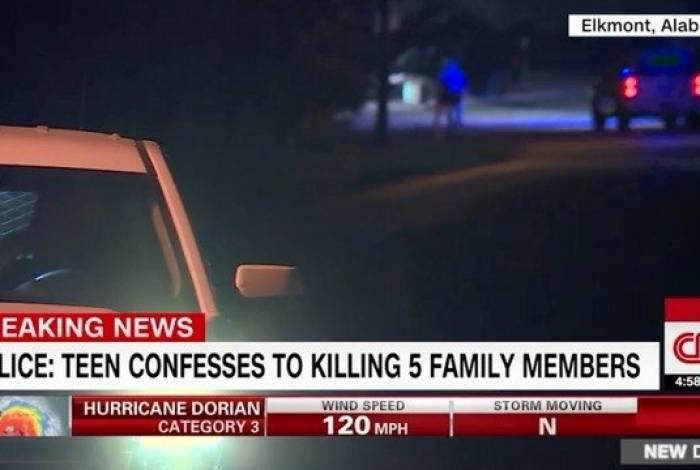Garoto matou a família toda nos EUA