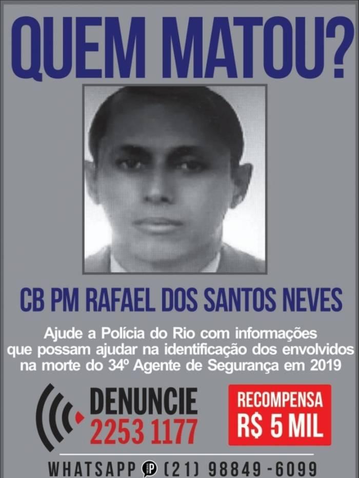 Portal pede informações sobre morte de policial