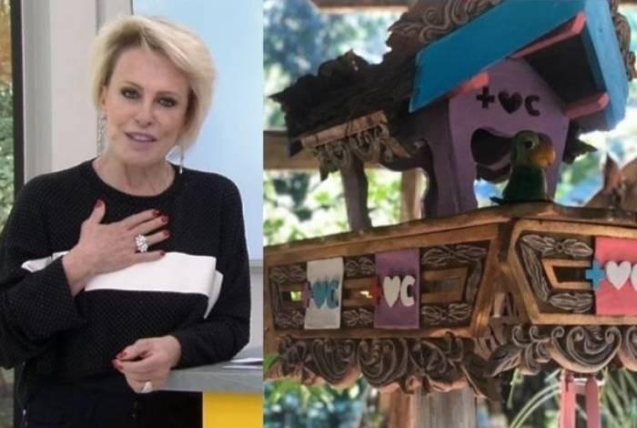 Ana Maria Braga recusa presente de telespectadora ao vivo