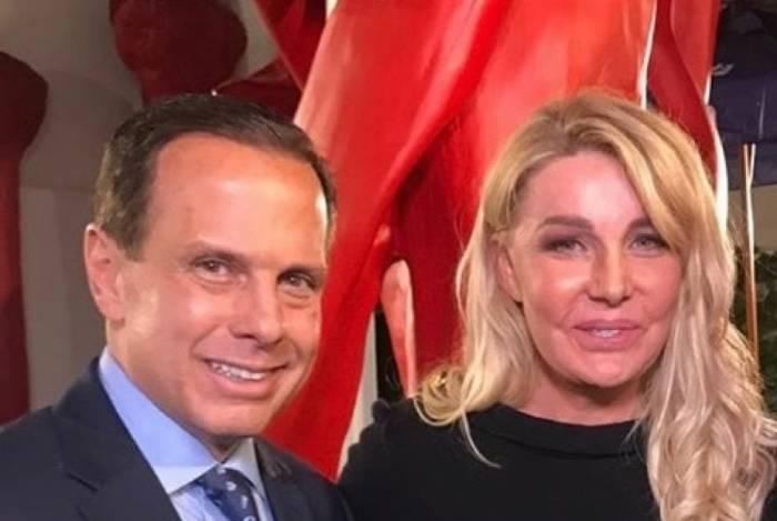 João Doria e sua mulher, Bia Doria