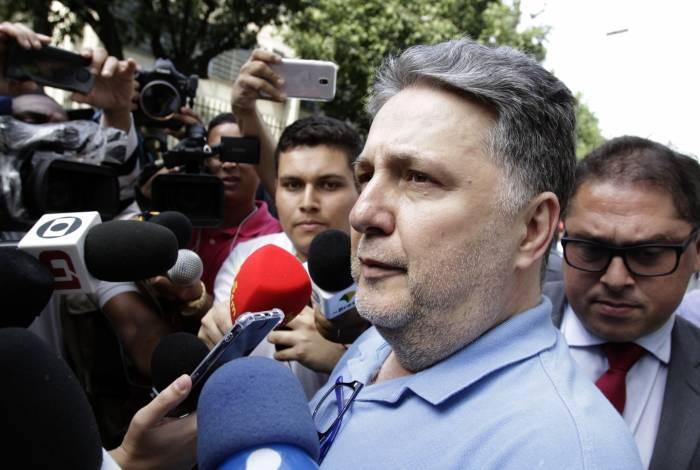 Ex-governador Anthony Garotinho é pai de Wladimir, pré-candidato àprefeitura de Campos