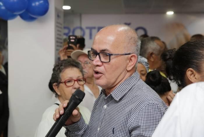 O secretário de Saúde de Duque de Caxias, José Carlos de Oliveira
