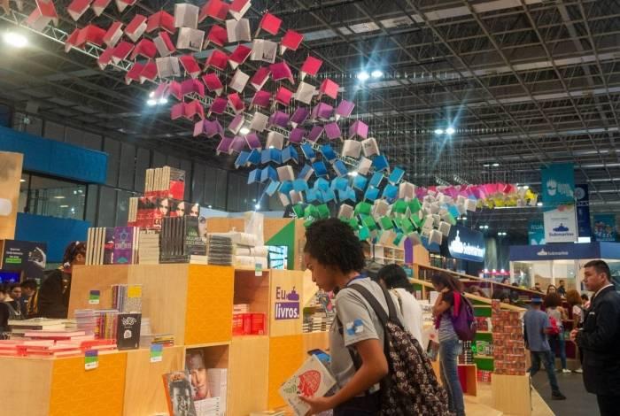 XIX Bienal Internacional do Livro, no Riocentro, Zona Oeste do Rio