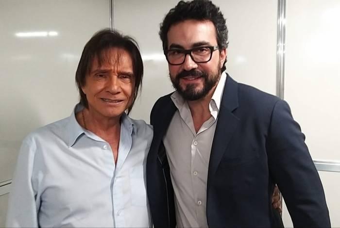 Roberto Carlos e Padre Fábio de Melo