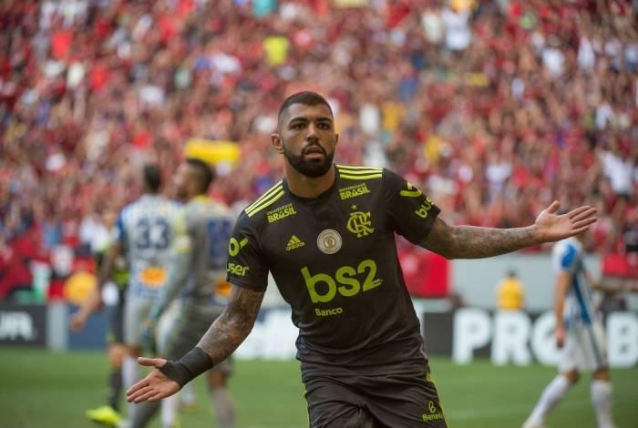 Flamengo venceu mais uma no Brasileirão
