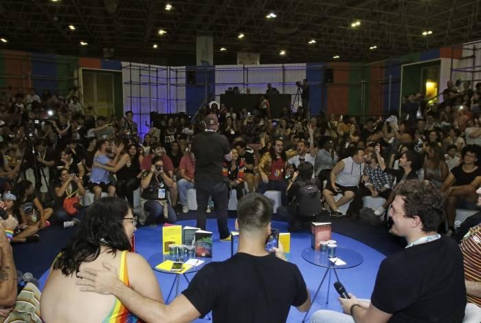 Segundo organizadores, a polêmica aumentou as vendas na Bienal do Livro