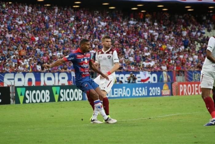 Fluminense venceu o Fortaleza no Castelão