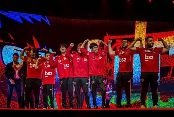 Flamengo conquistou o CBLoL