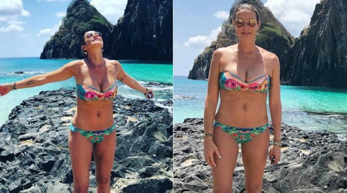 Cidadã quando morava no Brasil, Luana Piovani diz que não conseguia 'postar fotos bonitas de biquíni'