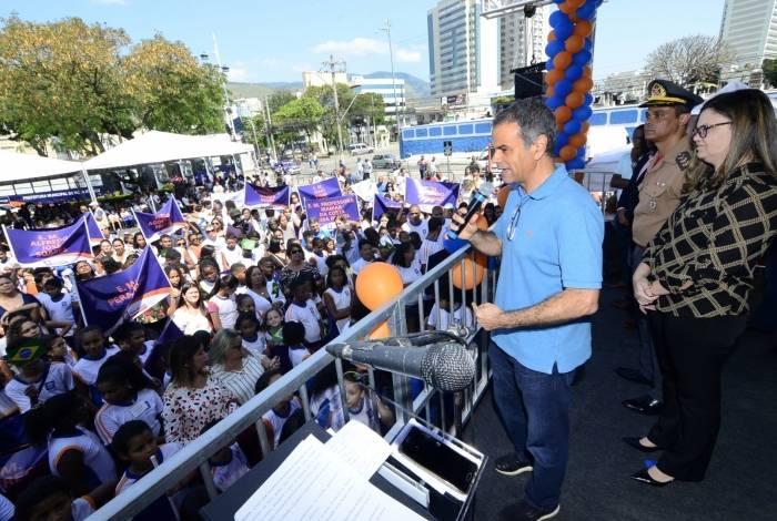 O prefeito Rogerio Lisboa anunciou a novidade durante o desfile cívico realizado no Paço Municipal em celebração ao Dia da Independência